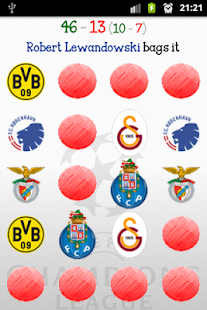 Champions League Memory Game - screenshot thumbnail