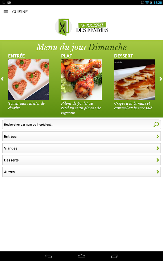 Cuisine 40 000 recettes android apps on google play for Google cuisine