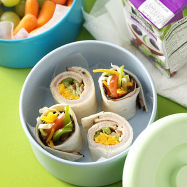 Turkey Ranch Wraps Recipe