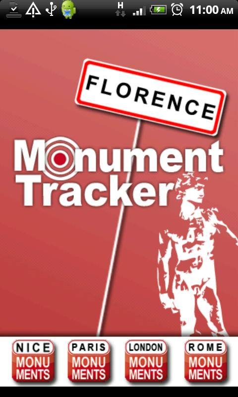 Florence Tracker - screenshot
