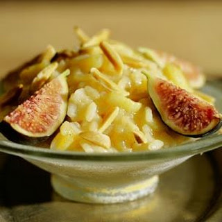 Risotto with Figs and Almonds