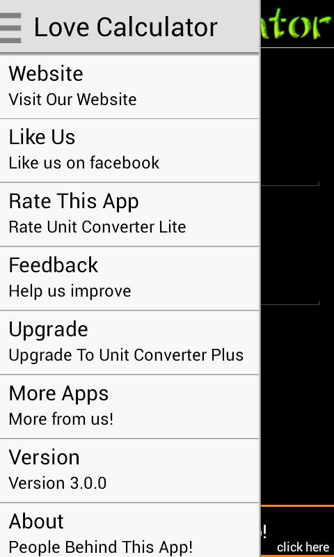 Love Calculator Lite - screenshot