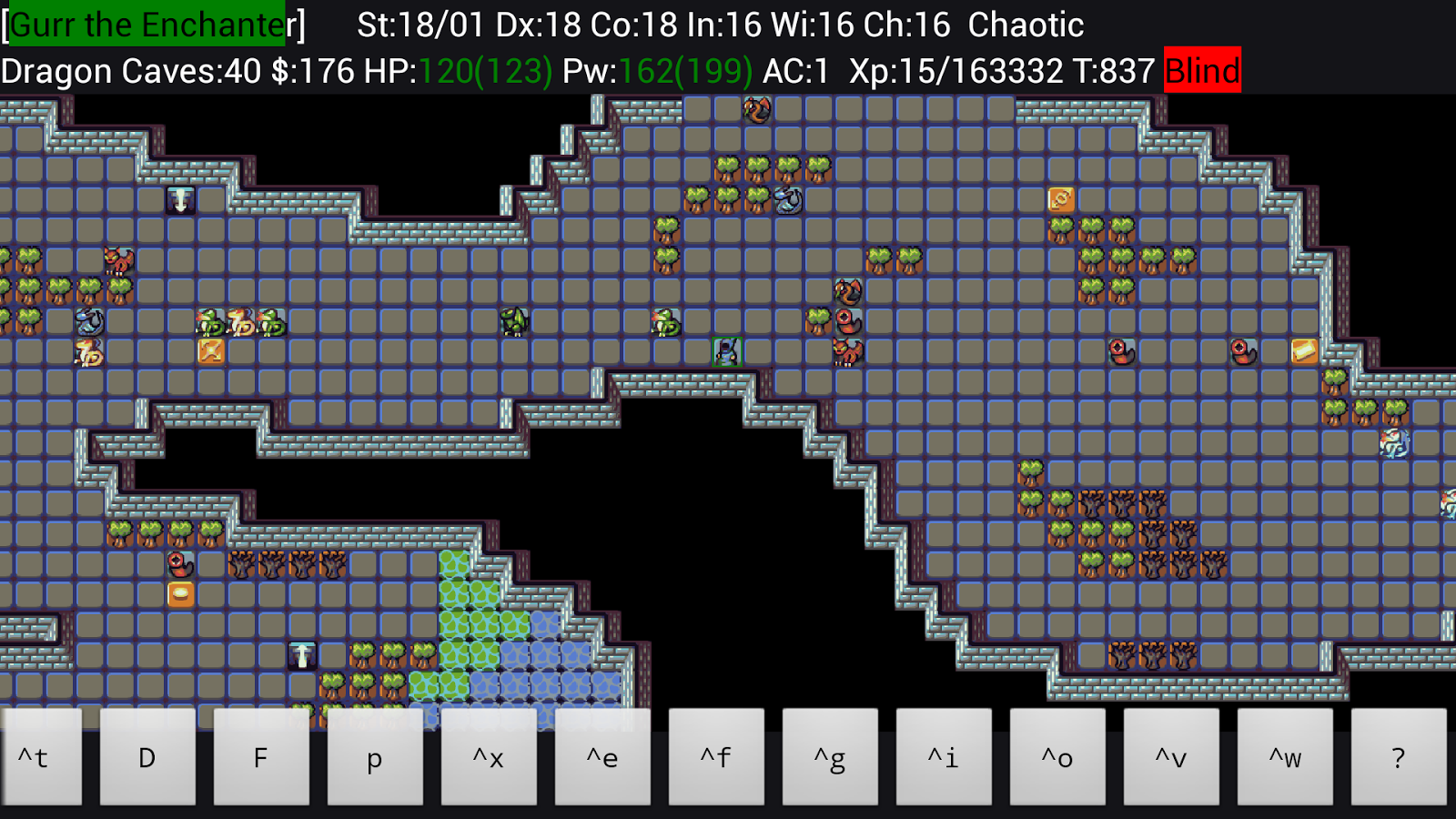 UnNetHack- screenshot
