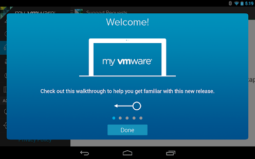 My VMware - screenshot thumbnail