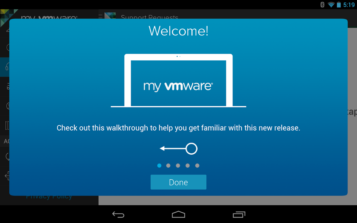 My VMware - screenshot
