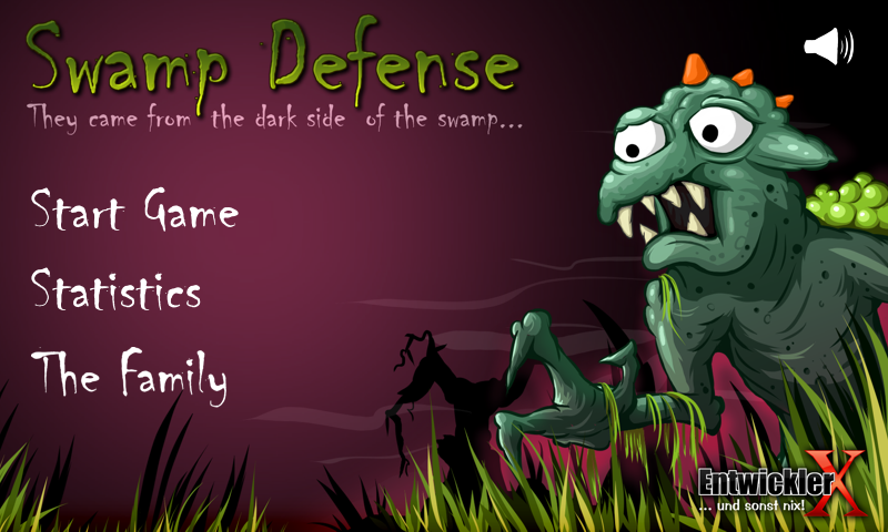 Swamp Defense- screenshot