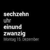 Deutsch Uhr Watch Face