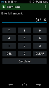 Tippy Tipper (Tip Calculator)- screenshot thumbnail