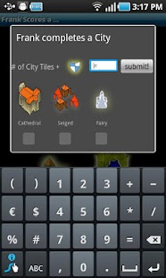 Carcassonne Scoreboard - screenshot thumbnail