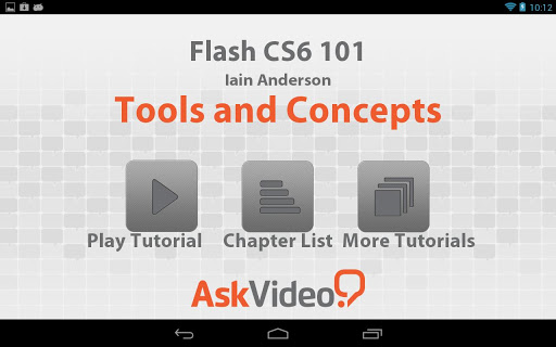 Flash CS6 101