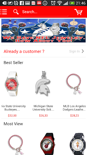 Sports Fan Jewelry Online