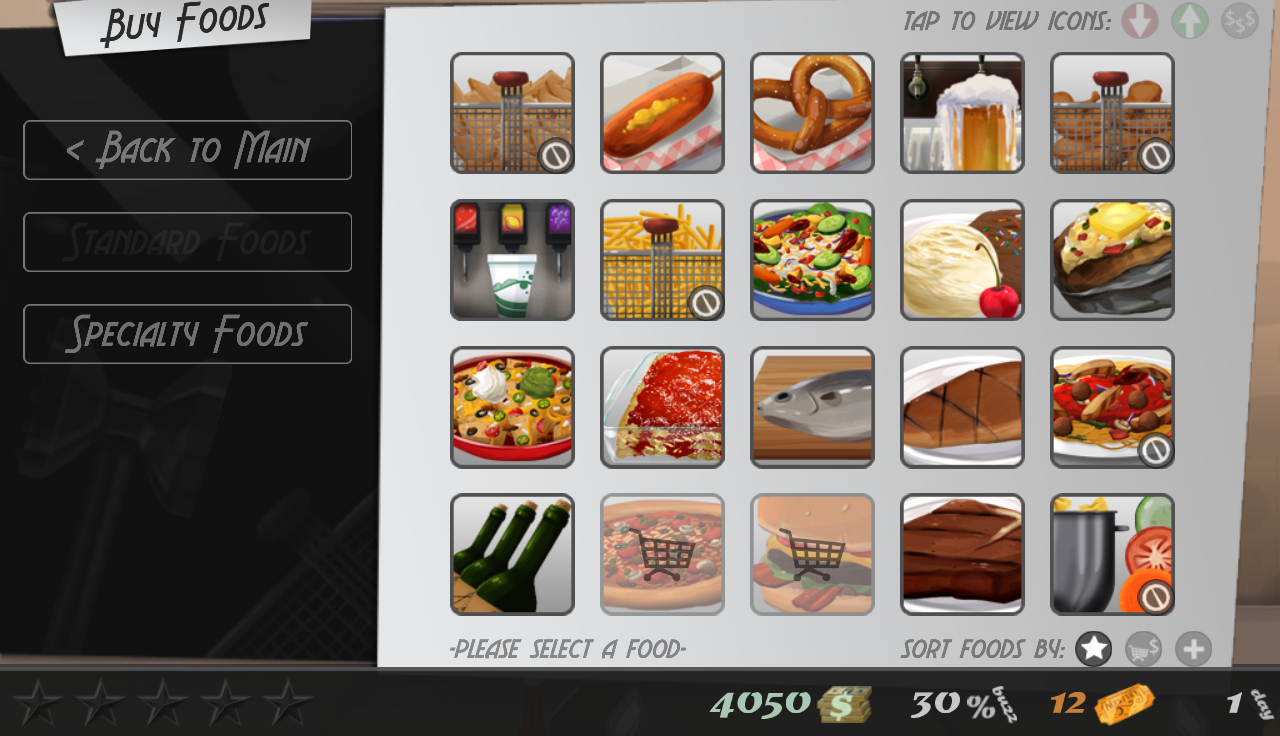 Cook, Serve, Delicious! Demo- screenshot