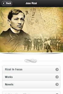 Jose rizal apps on google play screenshot image toneelgroepblik Gallery