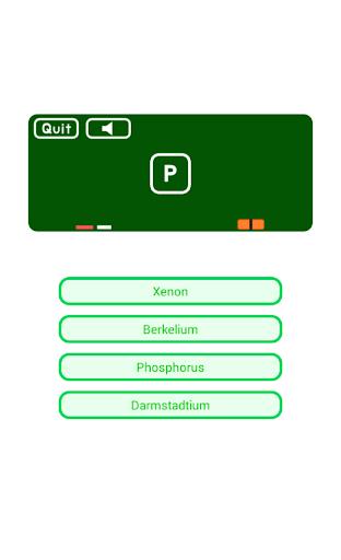Chemical Elements Quiz