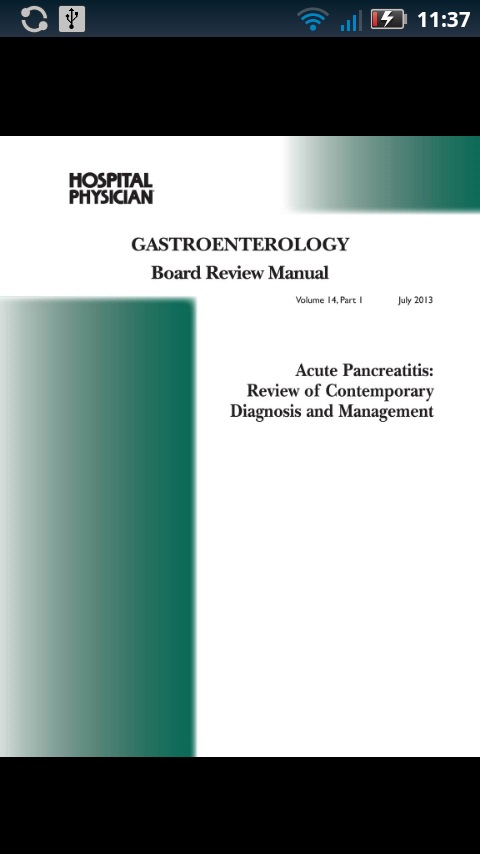 Gastroenterology Board Review- screenshot