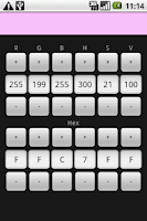 Screenshot of Color Converter