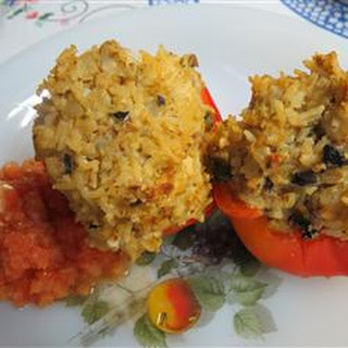 Meatless Stuffed Peppers