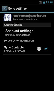 UberSync Facebook Contact Sync - screenshot thumbnail