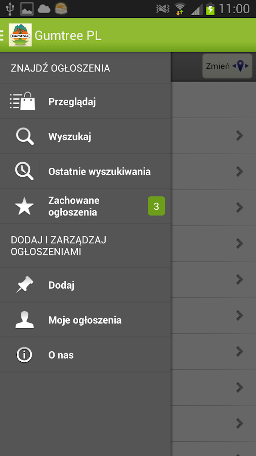 Gumtree Poland - screenshot