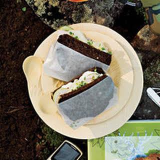 Roast Turkey Sandwich with the Works.