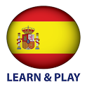 Learn and play. Spanish 1000 words icon