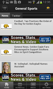 Southern Miss Sports - screenshot thumbnail