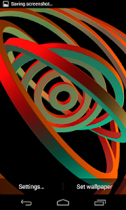 3D Hypnotic Spiral Rings PRO screenshot 6