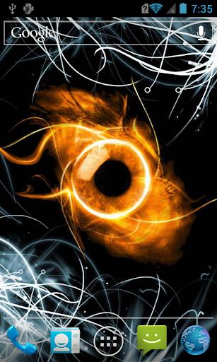 Fiery eye LWP