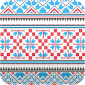 ethnic patterns wallpaper4