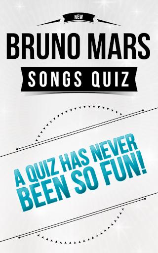 Bruno Mars - Songs Quiz