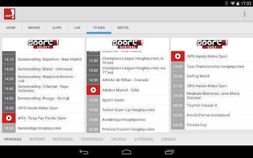 Sport1 - screenshot thumbnail