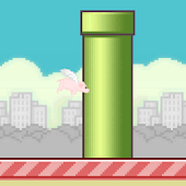 FlappyHog = FlappyBird+Grunt!