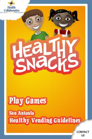 Healthy Snacks- screenshot