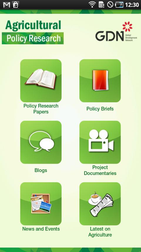 Agricultural Policy Research- screenshot