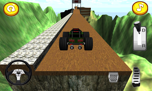 4X4的怪物卡车挑战赛
