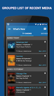 nuVue Shared for Plex & Emby- screenshot thumbnail