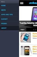 Screenshot of Serba Gadget