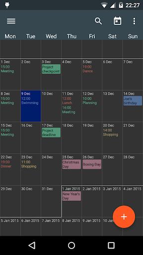 Touch Calendar Free  screenshots 4