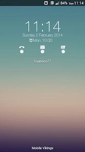 Flat for Zooper Widget Screenshot 4