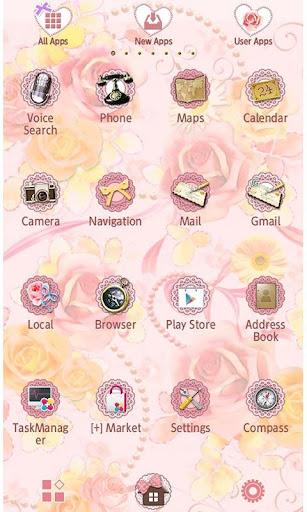 Girly Wallpaper Rose Garden 1.2 Windows u7528 2