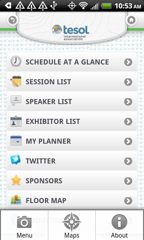 TESOL 2014 - screenshot