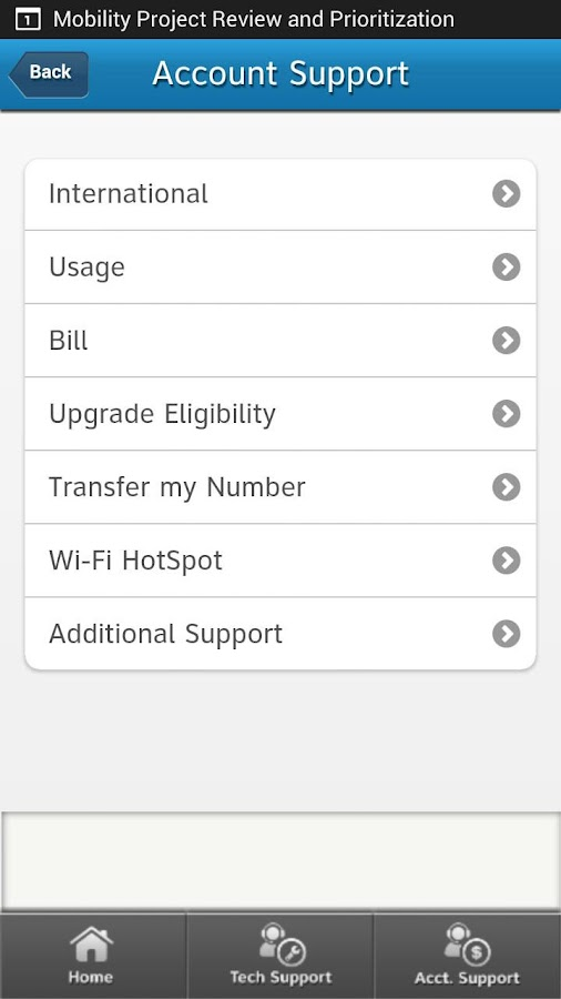 myAT&T Business- screenshot