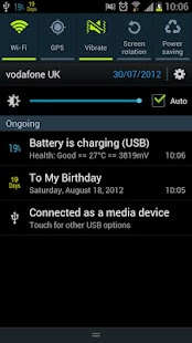 Battery Percentage Pro- screenshot thumbnail