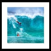 fresh blue beach wallpaper