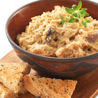 Roasted Red Onion Houmous