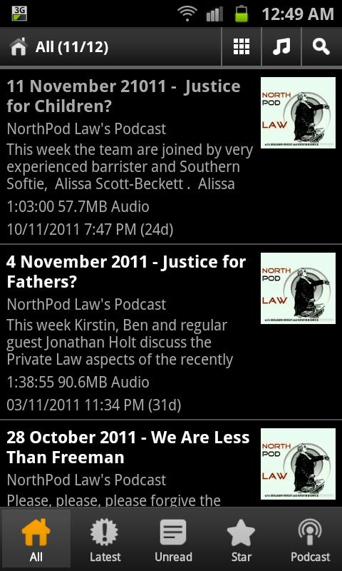 Northpod Law- screenshot