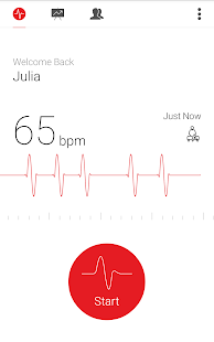 Cardiograph - Heart Rate Meter- screenshot thumbnail