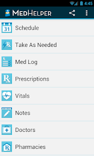 Med Helper Pro Pill Reminder- screenshot thumbnail