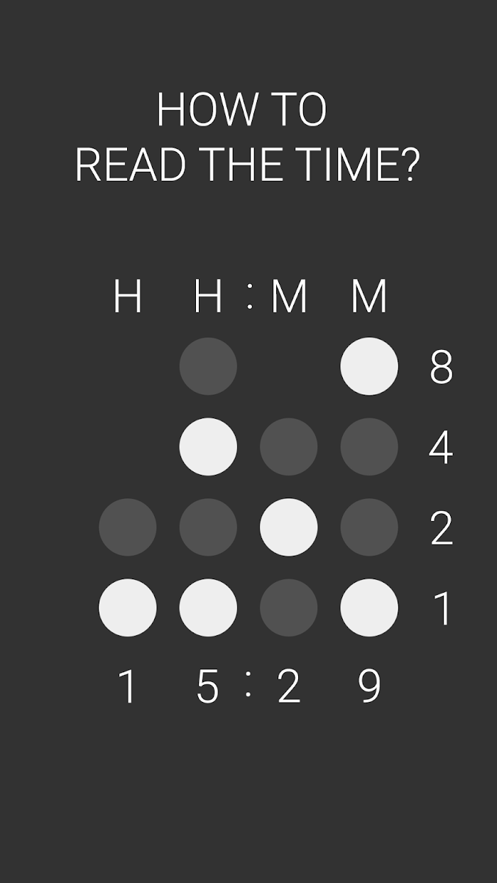 Binary V Clock for Gear Fit v1 0 0 For Android APK Download