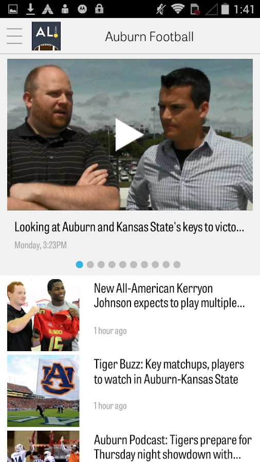 AL.com: Auburn Football News - screenshot